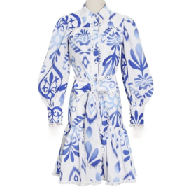 LOVE THE BLUE WHITE PRINT SET By Yessey