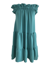 SIMPLY THE BEST AQUA DRESS By Yessey