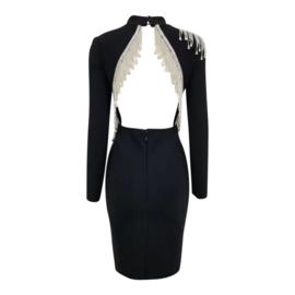 GLORIANE BLACK DRESS By Yessey