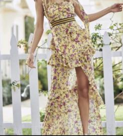BROOMFELD IRREGULAR YELLOW  DRESS  By Yessey
