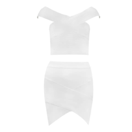 FULL WHITE 2 PIECE By Yessey