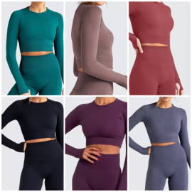COMFY SEXY SET LONG SLEEVE  By Yessey