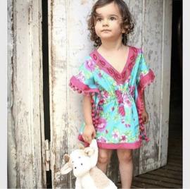 FLOWERBOMB beach Dress KIDS by yessey