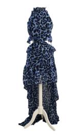 LEOPA BLUE DRESS By Yessey