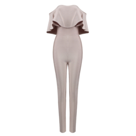 MONTE CARLO NUDE JUMPSUIT By Yessey