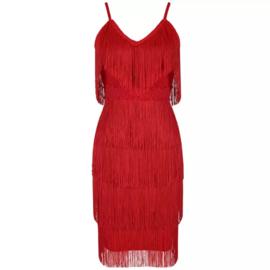 GLORIETTE RED DRESS  By Yessey