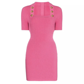 SQUARE PINK DRESS By Yessey