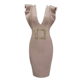 SABLE NUDE DRESS By Yessey