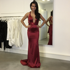 BORDEAUX MULITWAY MAXI  DRESS By Yessey