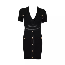 BLACK LOVE DRESS By Yessey