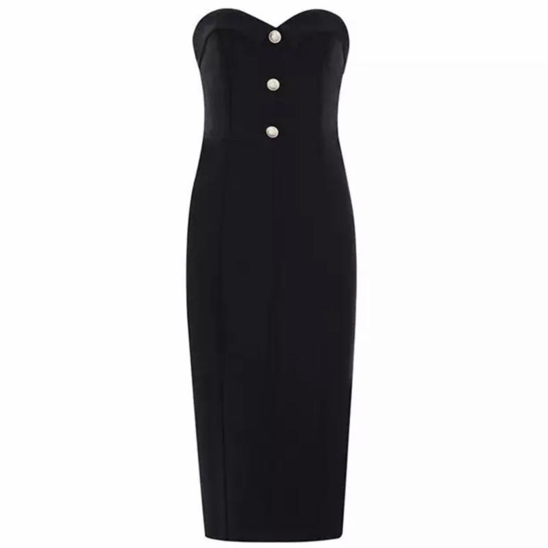 SHARNA BLACK DRESS By Yessey