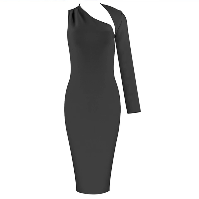 SOLUNA BLACK DRESS By Yessey