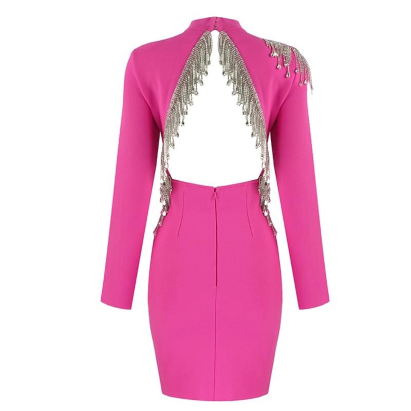 GLORIANE HOTPINK DRESS By Yessey
