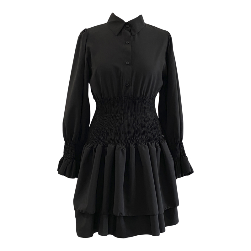 COME OVER LATER BLACK DRESS By Yessey