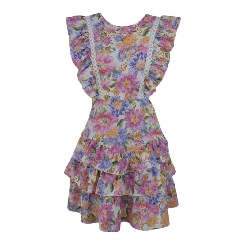COLORFUL FLOWER DAYS DRESS By Yessey