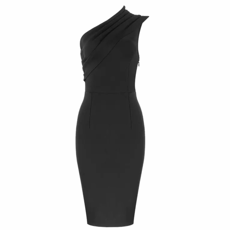 BELICE BLACK DRESS By Yessey