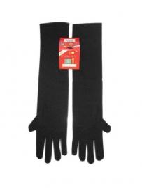 Handschoen zwart lang