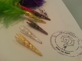 Verenpuntjes goud, zilver of brons  12 stuks voor € 10,-