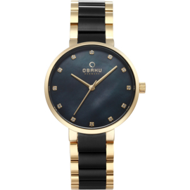 Obaku horloge V189LX GBSB1