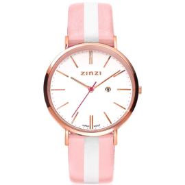 Zinzi horloge ZIW408RS - gratis armband