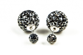 Karma Double Dots Hematite Crystal