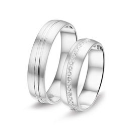 Zilveren relatieringen Alliance 6W.8792