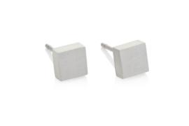 Clic aluminium oorbellen O37mat