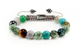 KARMA 31075 Spiral Green Harmony