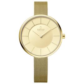 Obaku horloge V185LX GGMG