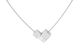 Clic aluminium collier C136