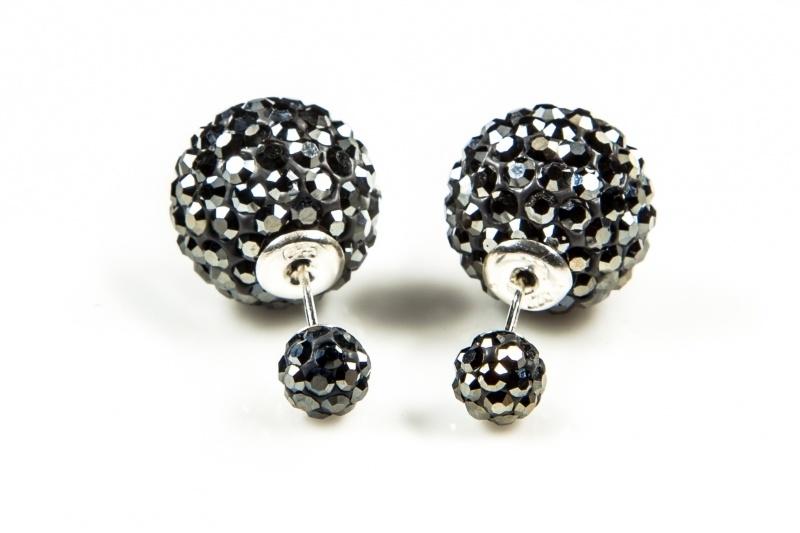 Karma Double Dots Hematite Crystal