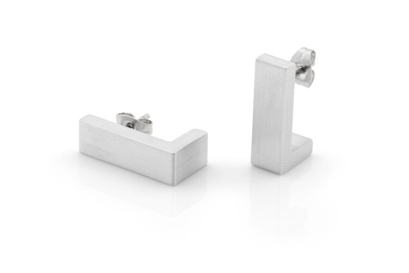 Clic aluminium oorbellen O27mat