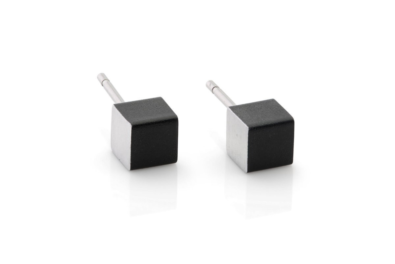 Clic aluminium oorbellen O28Z