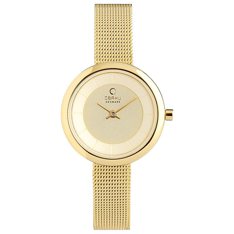 Obaku horloge V146L GGMG