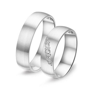 Zilveren relatieringen Alliance 6W.8649