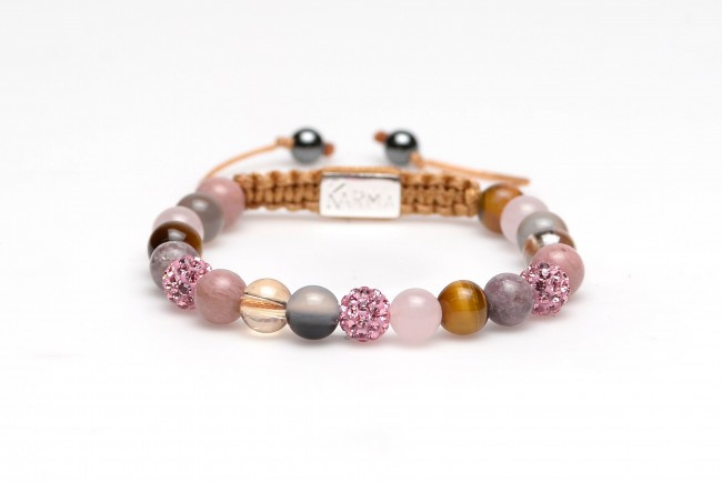KARMA 85168 Spiral Iberian Pink