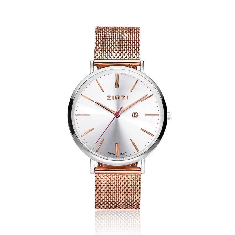Zinzi horloge ZIW412MR- gratis armband