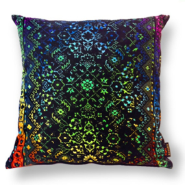 Sofa pillow Spectrum-black velvet cover SPECTROLITE