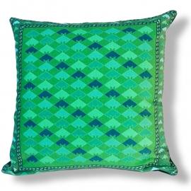 Cuscino Verde in velluto fodera per cuscino GIADA