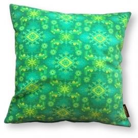 Cuscino Verde in velluto fodera per cuscino ERBA
