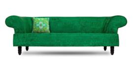 Groen fluwelen kussenhoes TOERMALIJN