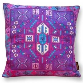 Sofa pillow Purple velvet cushion cover AMETHYST