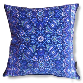 Sofa pillow Blue velvet cushion cover BLUE GRAPE