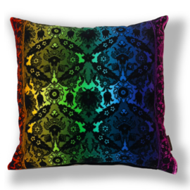 Sofa pillow Spectrum-black velvet cover CUCKOO WASP