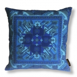 Sofa pillow Blue velvet cushion cover ROYAL BLUE