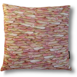 Sofa pillow Pink velvet cushion cover WINGED SEEDS MAPLE