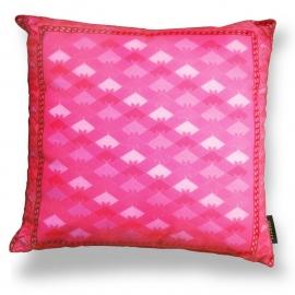 Sierkussen Roze fluwelen kussenhoes ROZE DAME