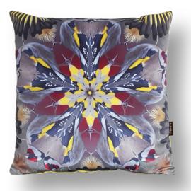Cushion cover velvet GOLDFINCH