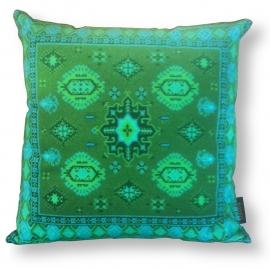 Cuscino Verde in velluto fodera per cuscino SMERALDO