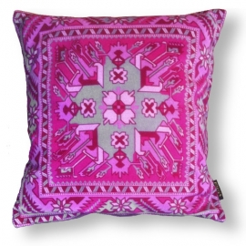 Sofa pillow Pink velvet cushion cover TOPAZ